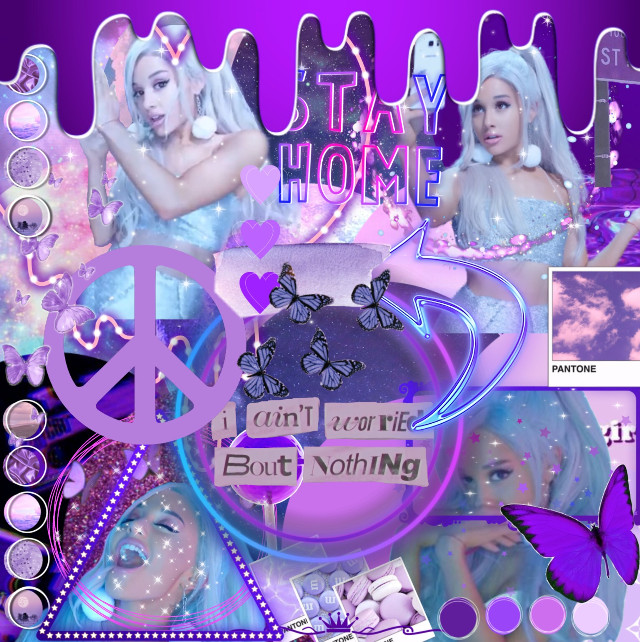 Hey guys! Today im really tired so this edit wasent the best!  [mood✨] happy  [time🌺] 11:23  [time it took to make🐽] 23 mins  [celeb🎆] ariana grande  [colors💋] purple  [inspo🌷] @fqirygrqnde-   Follow @aloefuhl  Thank you for following me 🌈🦋✨🌺   #freetoedit