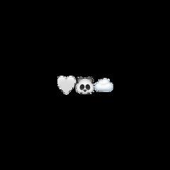 freetoedit panda emoji blacknwhite b&w