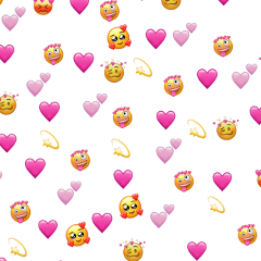 freetoedit emojibackground heartbackground