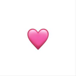 freetoedit heart pink iphone emoji