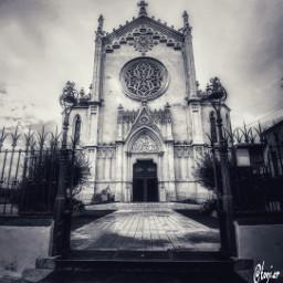 blacknwhite blancoynegro churches