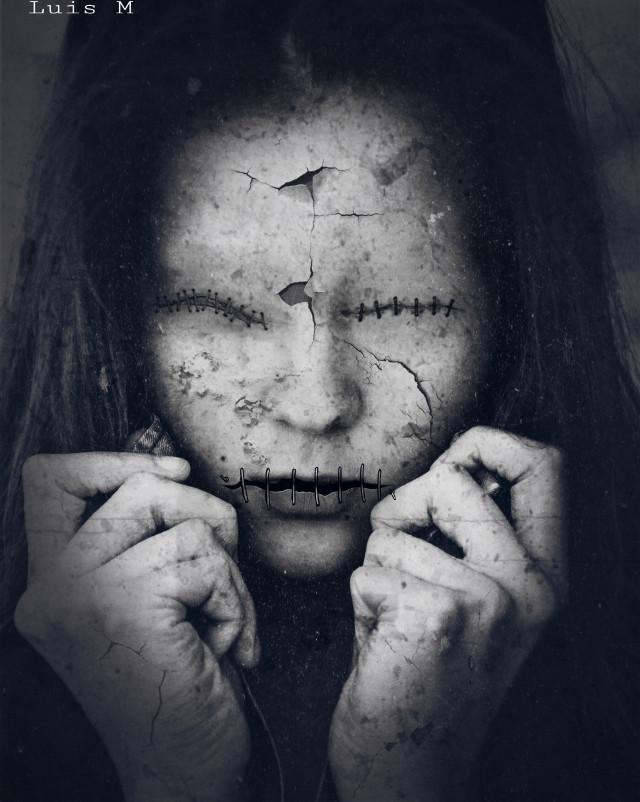 #freetoedit #scary #creepy #horror #terror #blackandwhite #photography #photoedit