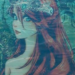 freetoedit mermaid princessariel water underwater underwaterroyalty srcunderwaterroyalty
