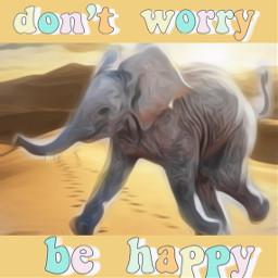 freetoedit elephant desert quotesandsayings behappy