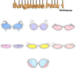 pngpack png sun glasses cool freetoedit