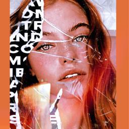 glossybox orangeaesthetic interesting art london freetoedit rcglossandglow glossandglow