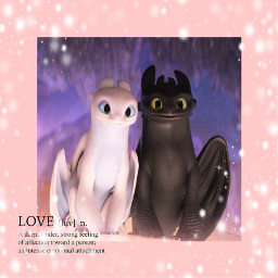 toothless lightfury love dragons howtotrainyourdragon3 freetoedit