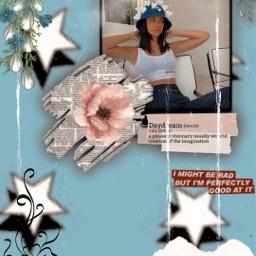 freetoedit azul estrella blanco negro pcbeautifulbirthmarks echumananimalhybrid