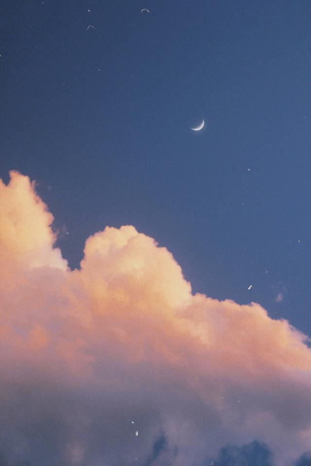 🧸☁️  ;  #myphotography #sky #clouds #aesthetic #dreams #korean #japan #moon # #freetoedit