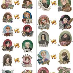 hermionegranger vs lunalovegood ginnyweasley ronweasley freetoedit