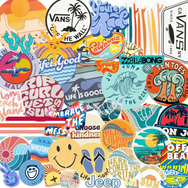#collage #awholebunchofstickers #surf #surfing #aesthetic #vsco #mypersonality  #freetoedit