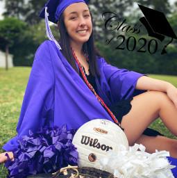 classof2020 graduation graduate softball cheerleader freetoedit
