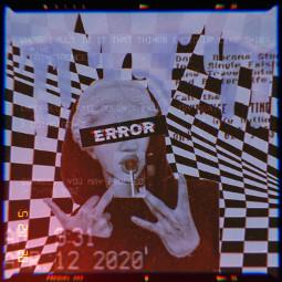 glitch cinema statue error holographic