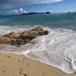 myphoto sealovers island sand cloudsandsky freetoedit
