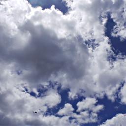 myphotography island clouds bluesky background freetoedit