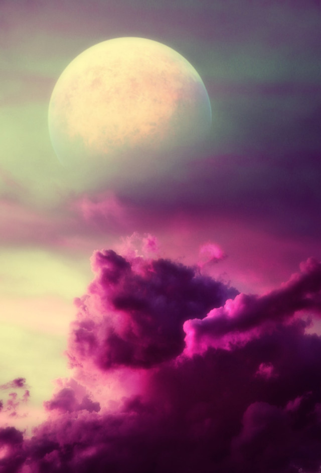 #freetoedit #myedit #madewithpicsart  #space #planet #moon #sky #clouds #earth #galaxy #surreal #fantasy  Op@picsart @ninatihay2013