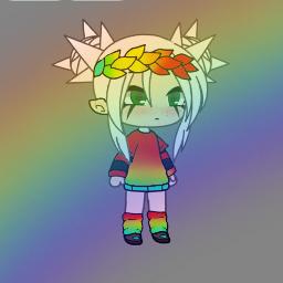 rainbowmagiceffect freetoedit
