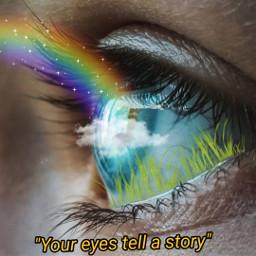 freetoedit eyes rainbow eye eyeart ecquotesandsubtitles quotesandsubtitles
