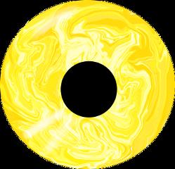 freetoedit eye occhio yellow giallo