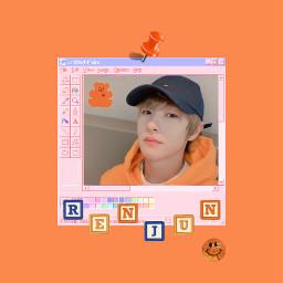 wallpaper lockscreen kpop renjun nct freetoedit