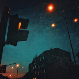 night street streetlight mobilephotography