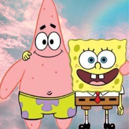 freetoedit bff spongebob patrick coolbestbuddiesforever👍😆😉😎😍🤩💖💜💗😁