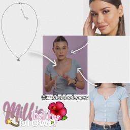 fashion millie milliebbrown milliebobbybrown style freetoedit