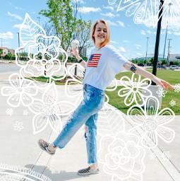 doodle summer art freetoedit