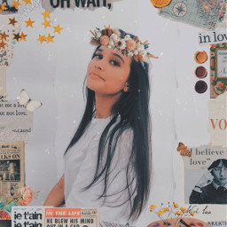 freetoedit vintage collage floral irccameraready cameraready