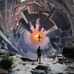 freetoedit city planetearth sun human