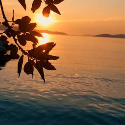 freetoedit sunset sea myphoto pcbluehour