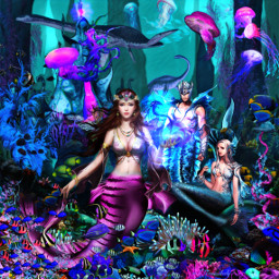 freetoedit mermaid fantasyart mood myedit srcunderwaterroyalty
