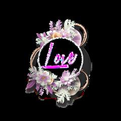 freetoedit love interesting flower border