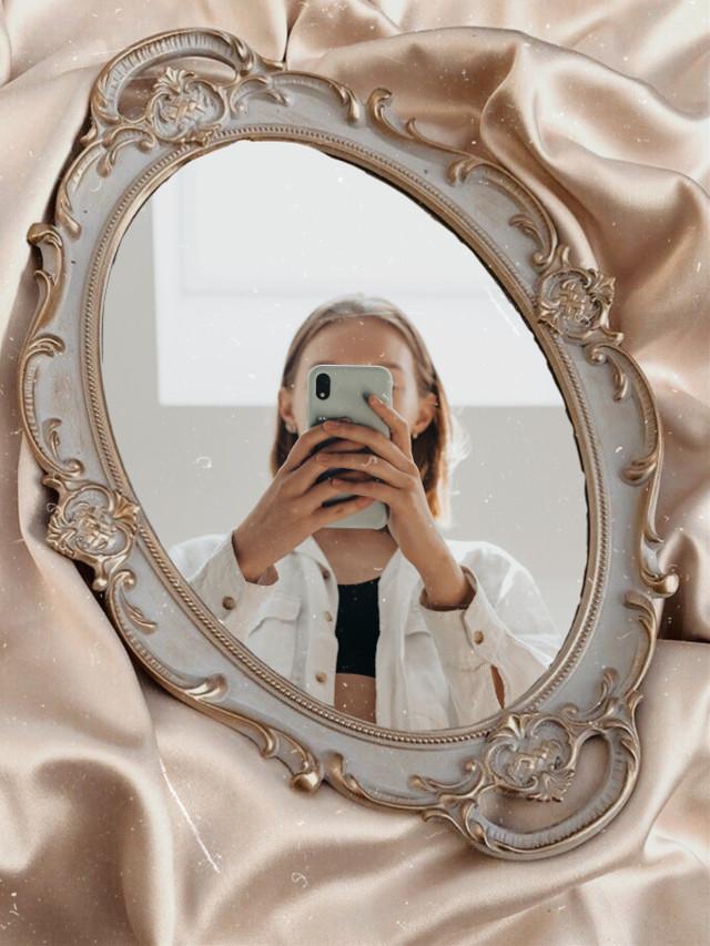 #freetoedit #mirror #mirrorselfie #mirrorselfies #fancy #vintage