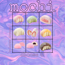 freetoedit mochi mochis icecream sweets
