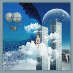 freetoedit sureal surrealism bluesky june ecsurrealisticworld surrealisticworld