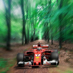 freetoedit f1 ferrari forest racecar