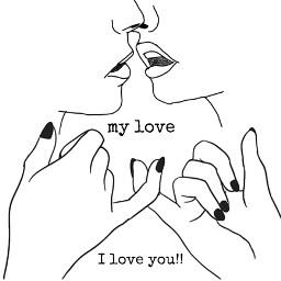 love loving lovely missingyou kuss freetoedit
