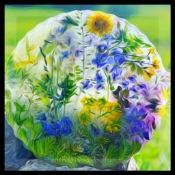 art mine frozenflowers wildflowers