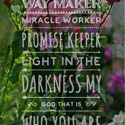 freetoedit waymaker miracle promise lightinthedarkness