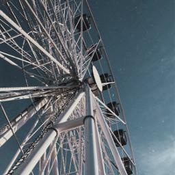 picsart sky ferriswheel wheel fade