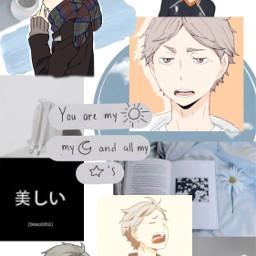 freetoedit haikyuu sugawara anime wallpaper