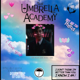 aidangallagher theumbrellaacademy freetoedit