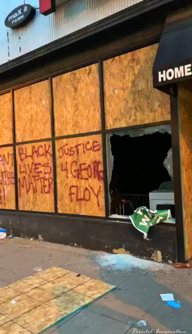 The anger of a community- Minneapolis, Minnesota.  Photo by: Parietal Imagination Art @pa, May 28th, 2020 #minneapolis #minnesota #protests #riots #georgeflynn #donotedit #myphoto #myphotography #vip #parietalimagination