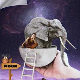 freetoedit imagination surreal art artwork ircmoonbeam moonbeam