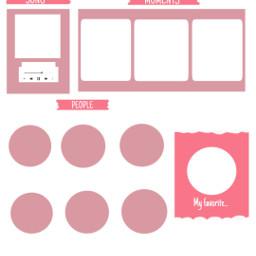 template templatepink pink white freetoedit