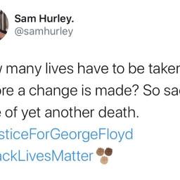 freetoedit justiceforgeorgefloyd blacklivesmatter true sad