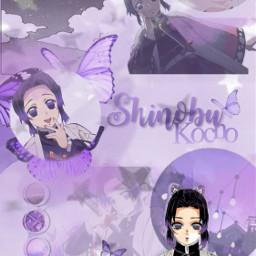 demonslayer kimetsunoyaiba shinobu shinobukocho wallpaper freetoedit