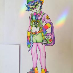 art myart artist teletubbies fanart freetoedit