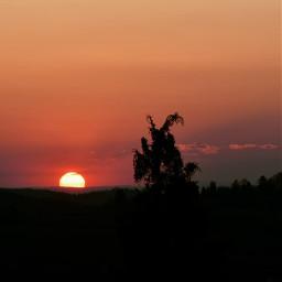 freetoedit photography sunsetlovers sunsetsky silhouette